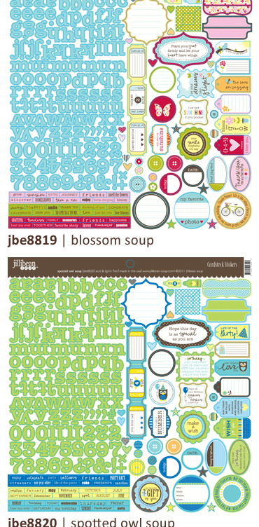 Jillibean stickers